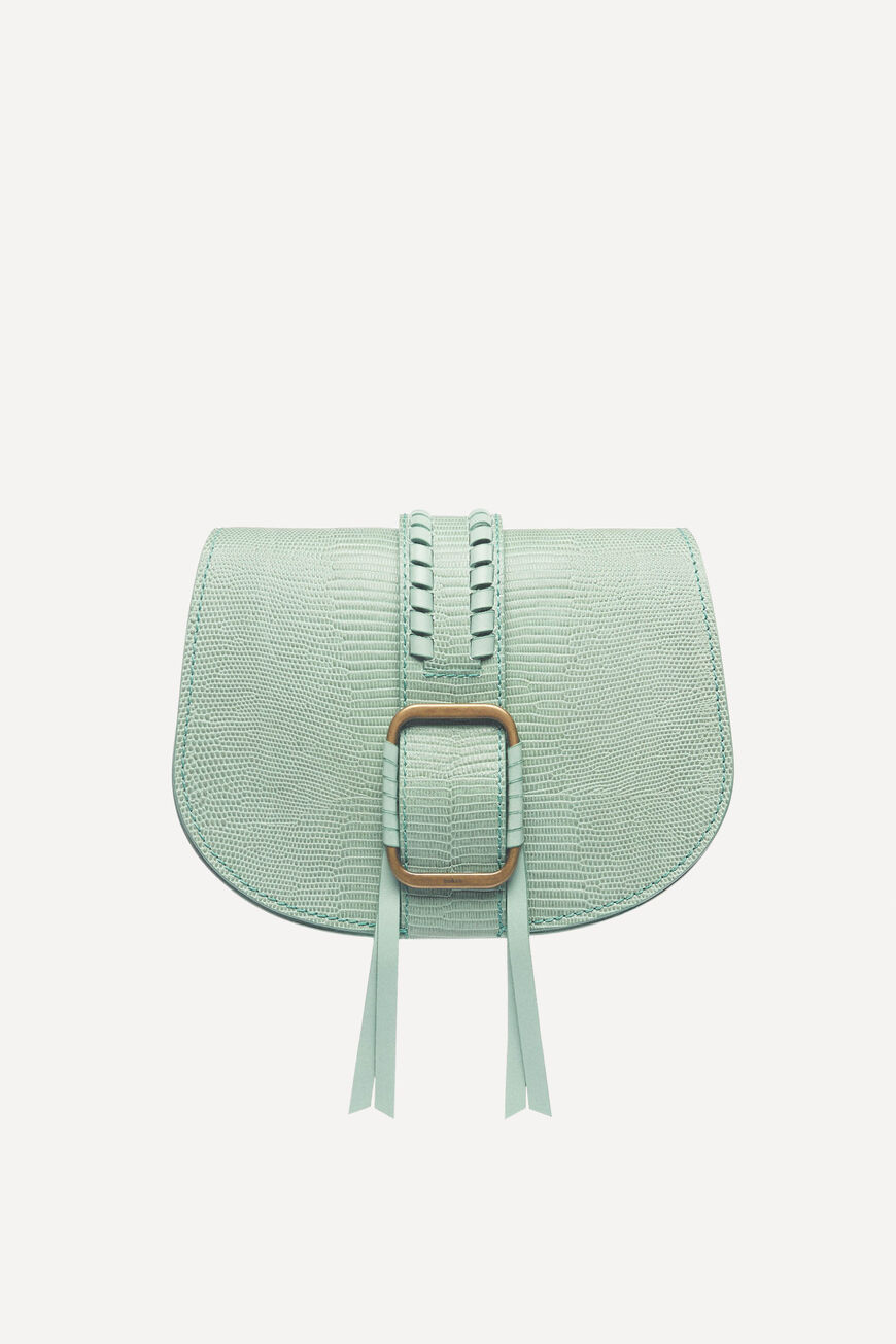SAC TEDDY CROSSBODY BAGS AQUA