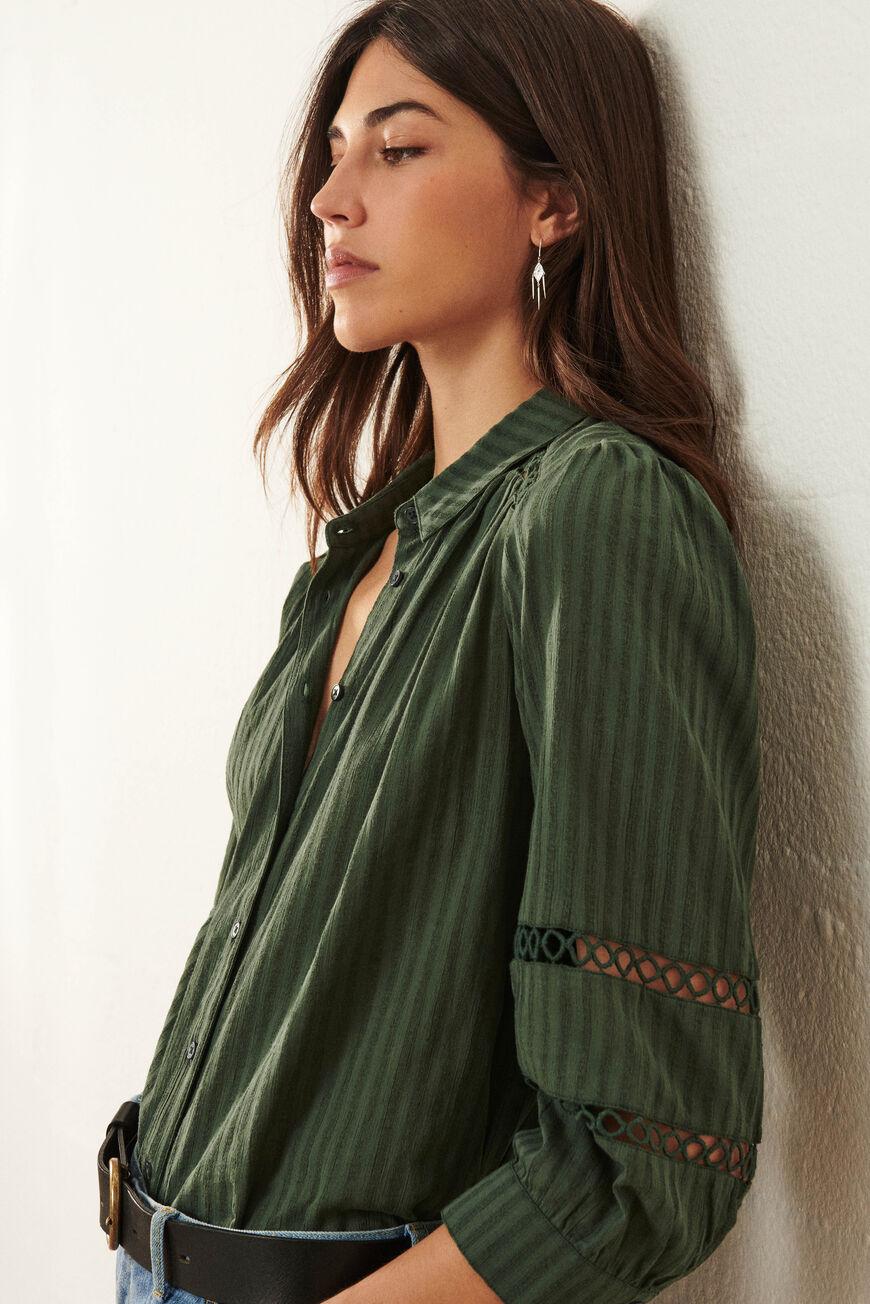 SHIRT UPSA Tops & Shirts KAKI BA&SH