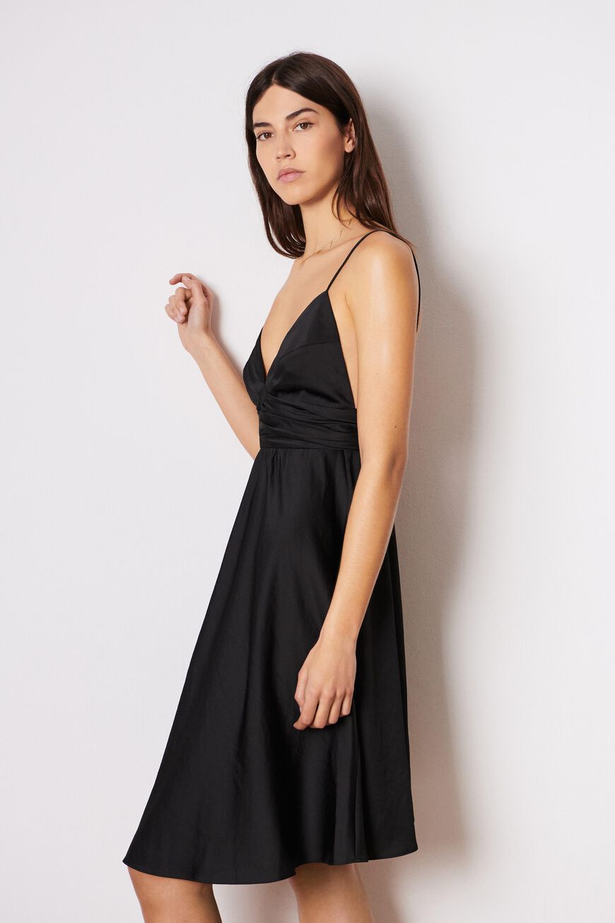 ROBE DIXIE ROBES NOIR