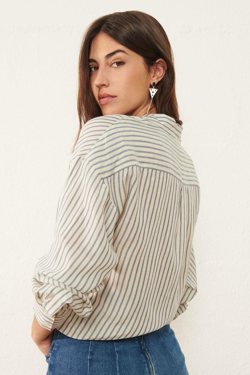 SHIRT MARISA Tops & Shirts BLEU BA&SH