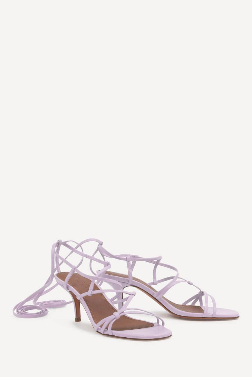 SANDALES CELLY CHAUSSURES LILAS BA&SH