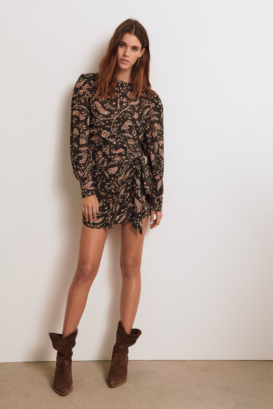 ROBE COSTEL ROBES COURTES CARBONE