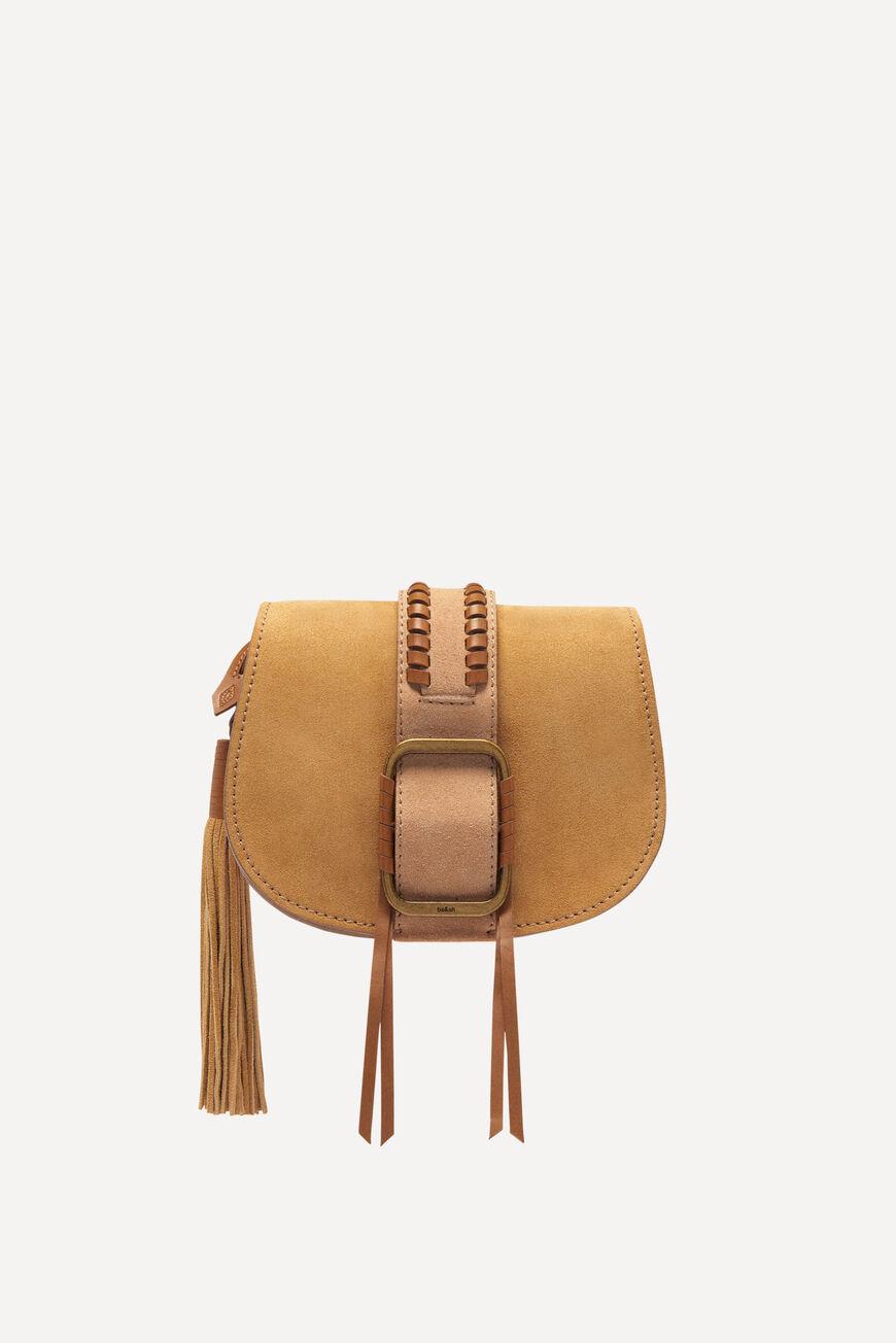 SMALL-BAG TEDDY TEDDY BAGS CAMEL BA&SH