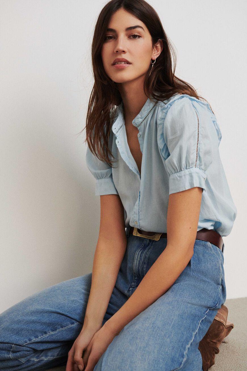 SHIRT TYANA Tops & Shirts BLEUCIEL BA&SH