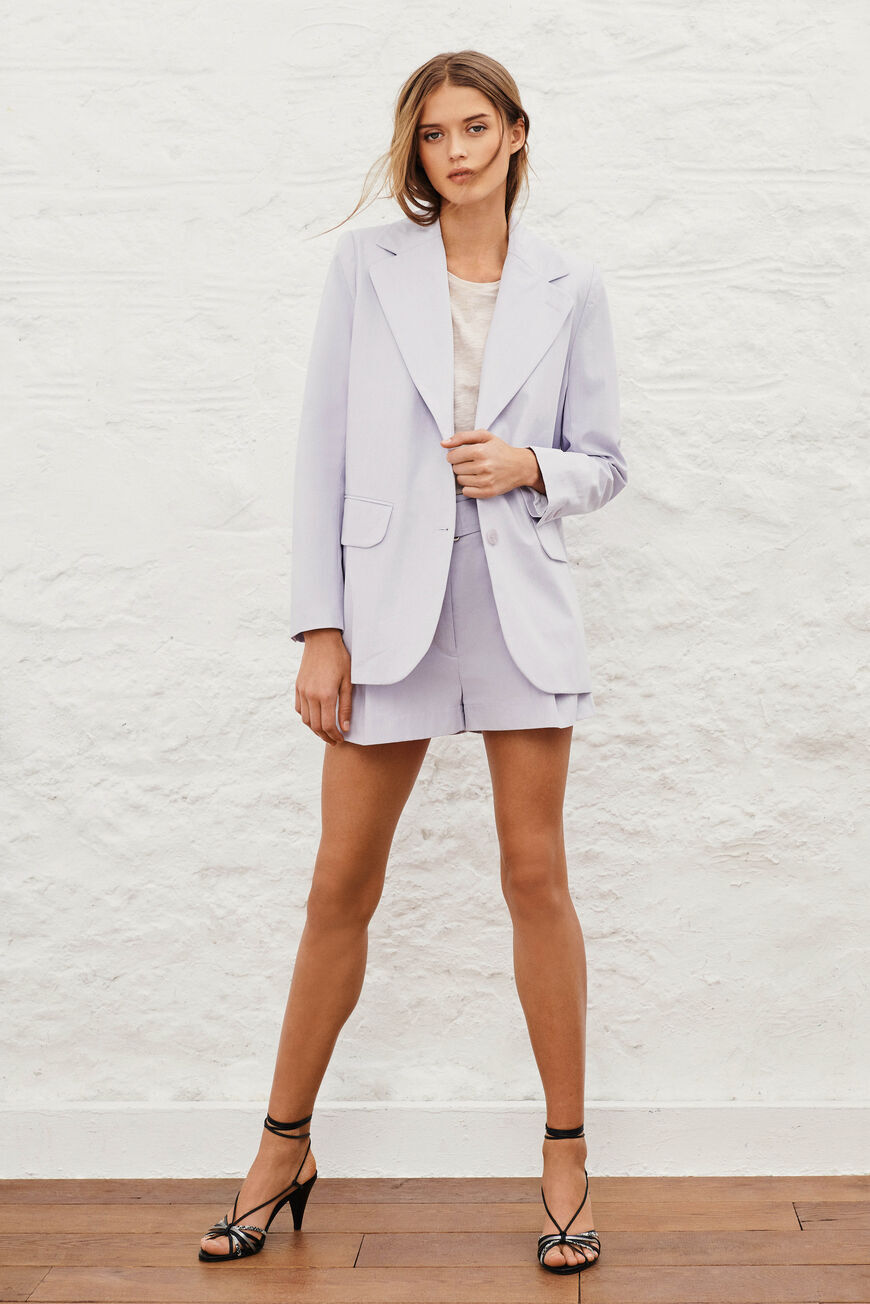 JACKET ALEA Jackets & Coats MAUVE BA&SH