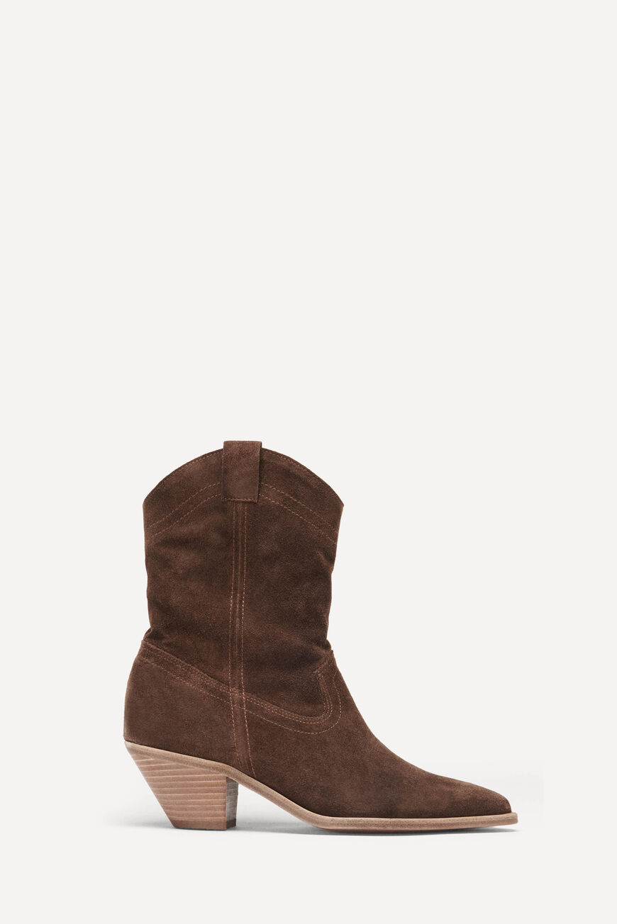 BOTTINES CLAUDIA BOOTS & BOTTINES MARRON