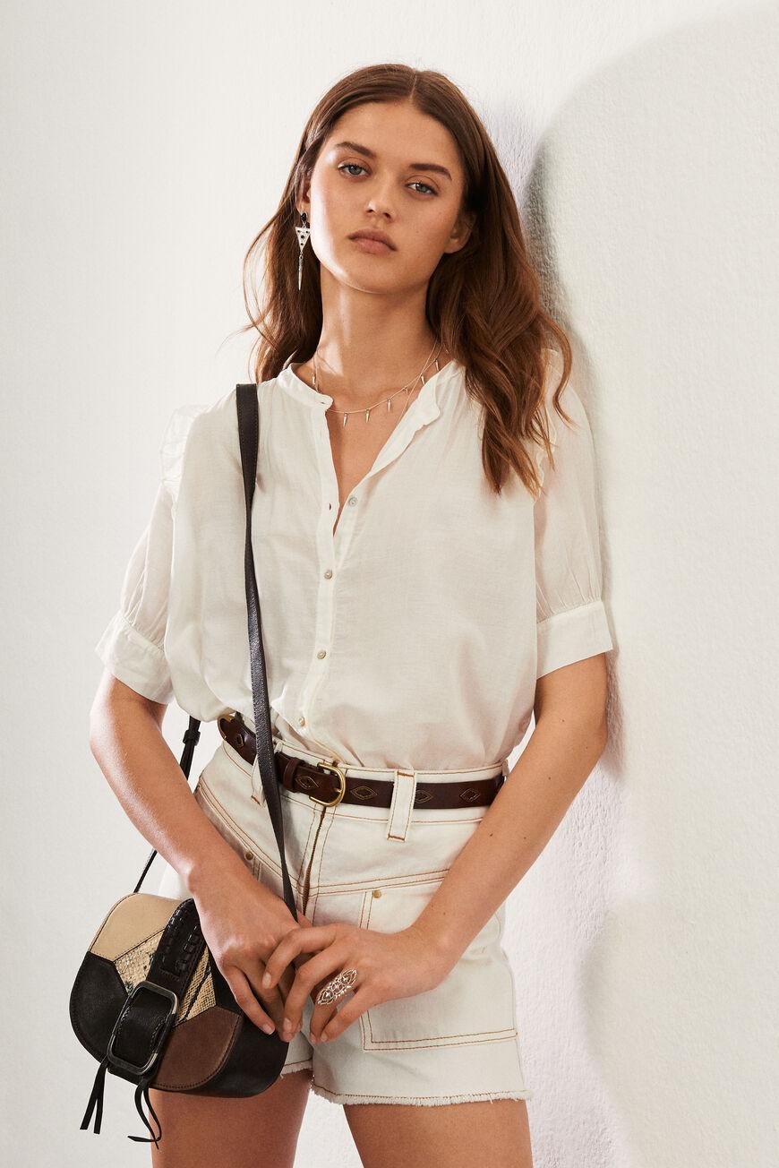 SHIRT TYANA Tops & Shirts ECRU BA&SH