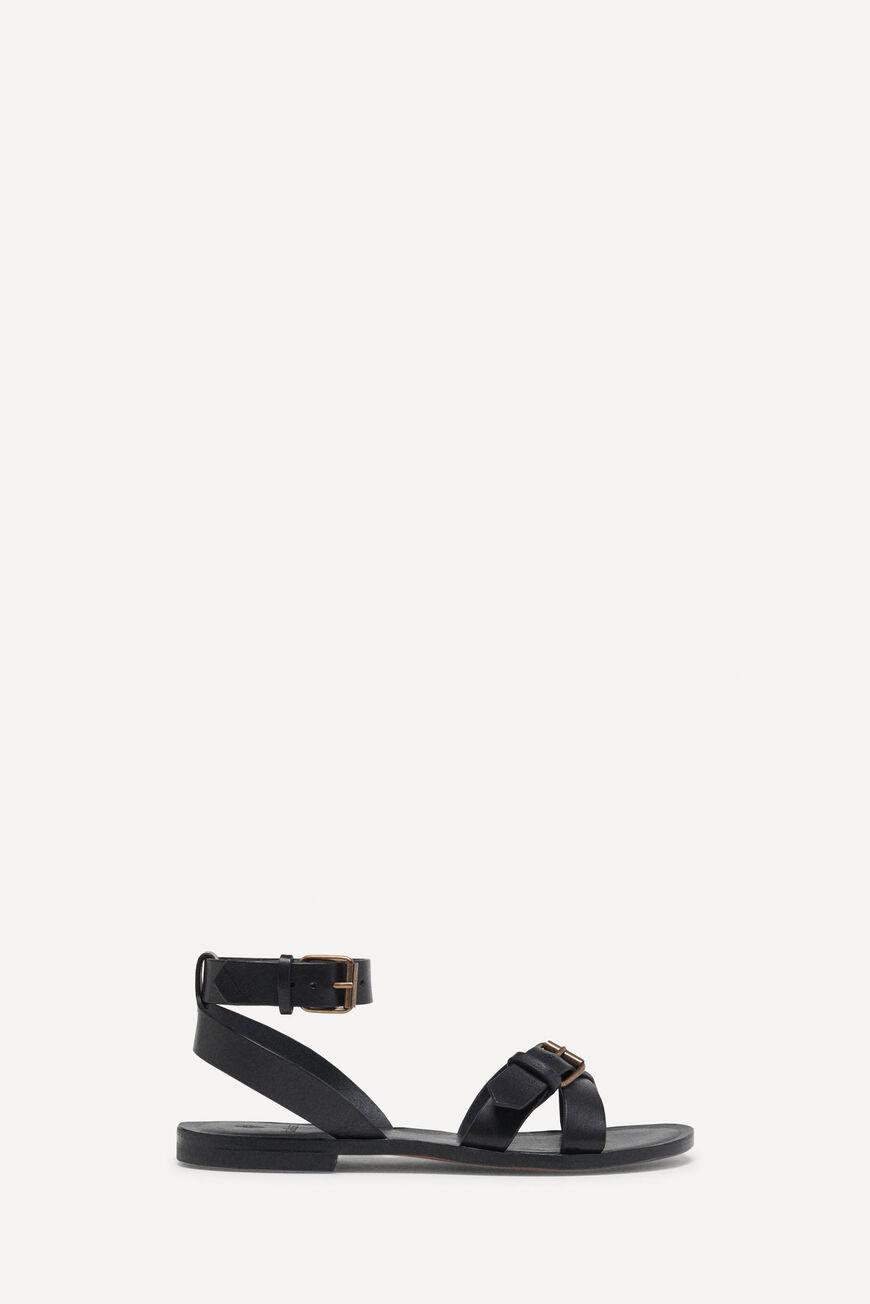 SANDALS CAMELIA Shoes NOIR BA&SH
