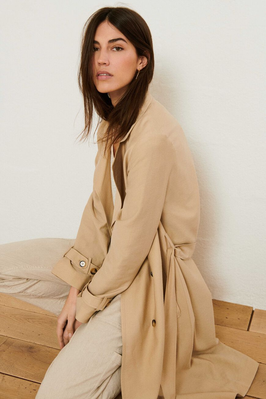 TRENCH CRICKO MANTEAUX BEIGE