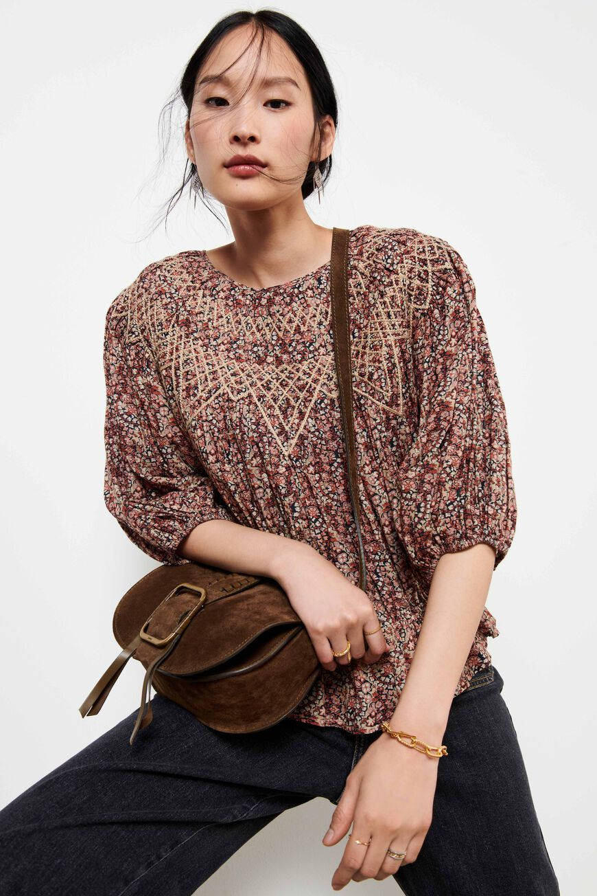 BLOUSE ISAURE TOPS GREIGE