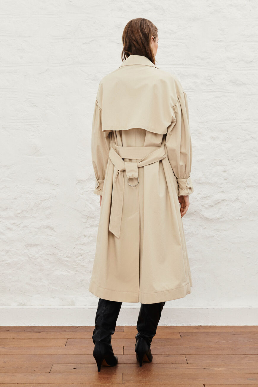TRENCH ALAN MANTEAUX BEIGE
