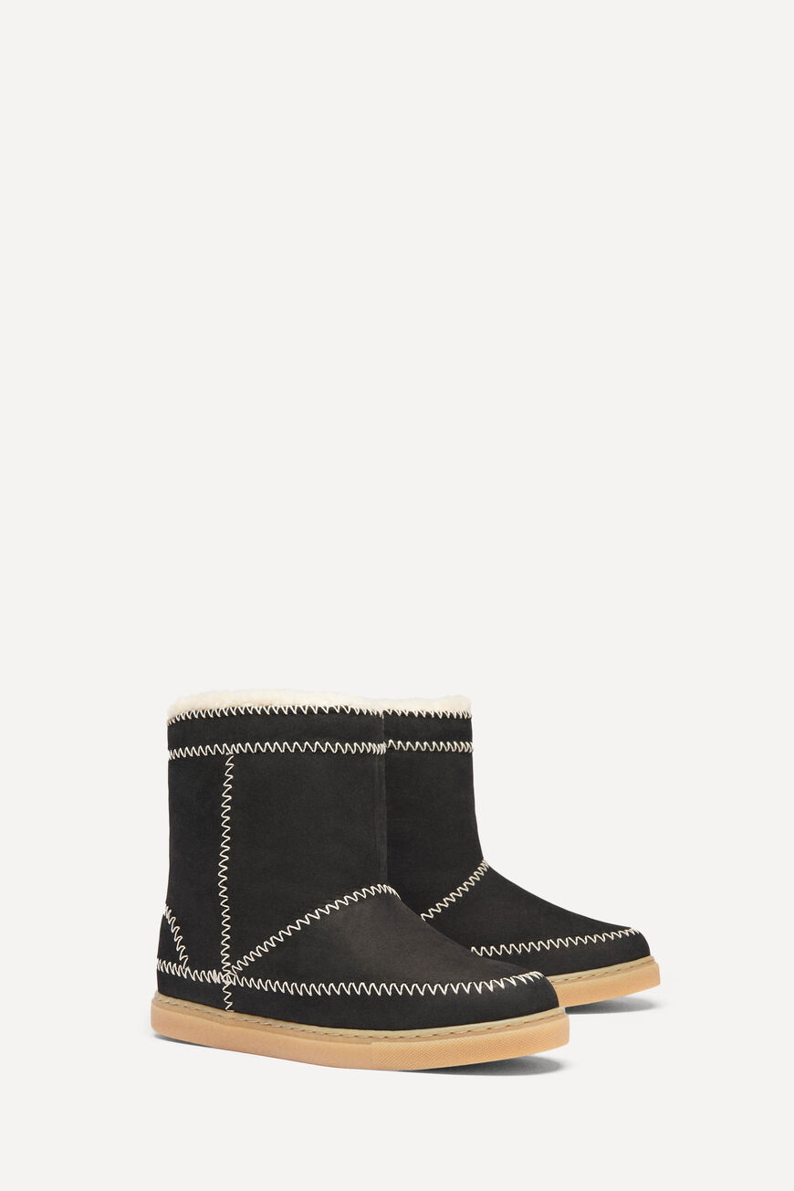 BOTTES CHAMBERY CHAUSSURES NOIR