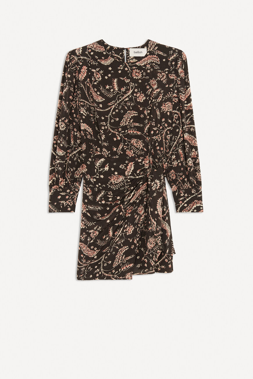 ROBE COSTEL ROBES COURTES CARBONE BA&SH