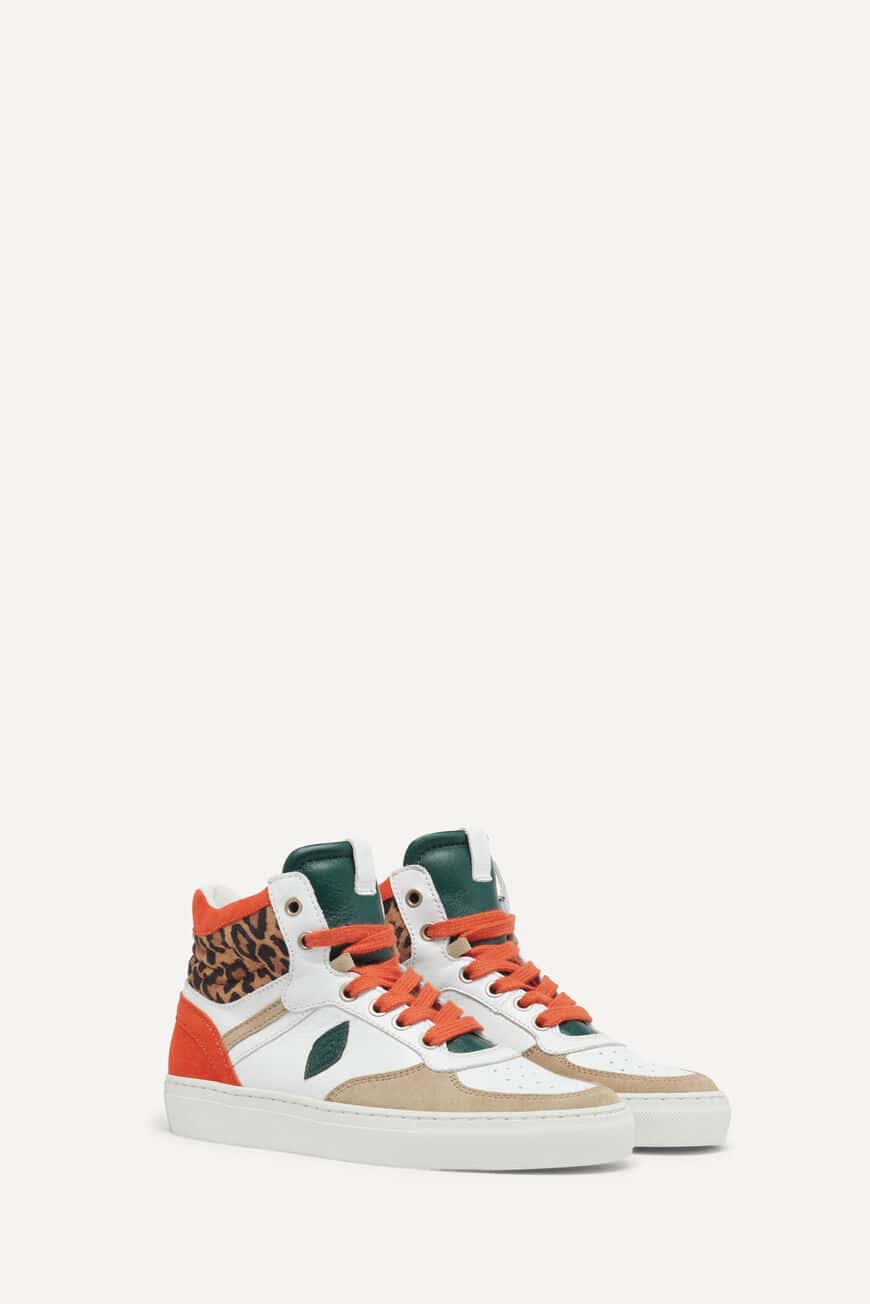 SNEAKERS CRUSH CHAUSSURES LEOPARD