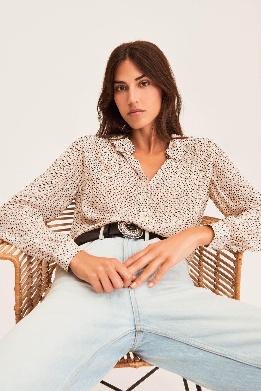 BLOUSE ANITA Tops & Shirts ECRU BA&SH