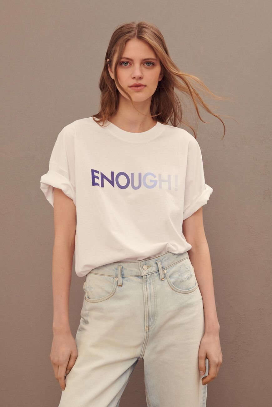 T-SHIRT ENOUGH T-SHIRTS