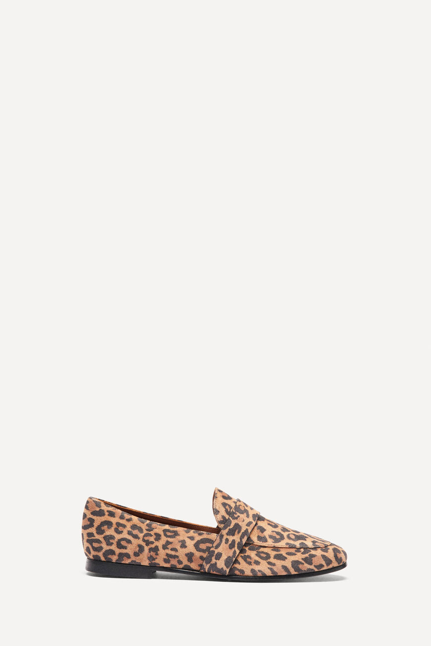 MOCASSINS LCAMPBELL CHAUSSURES LEOPARD