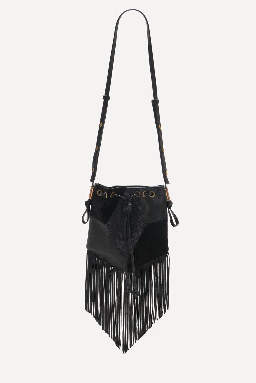 POUCH-BAG SPARROW CROSSBODY BAGS NOIR BA&SH